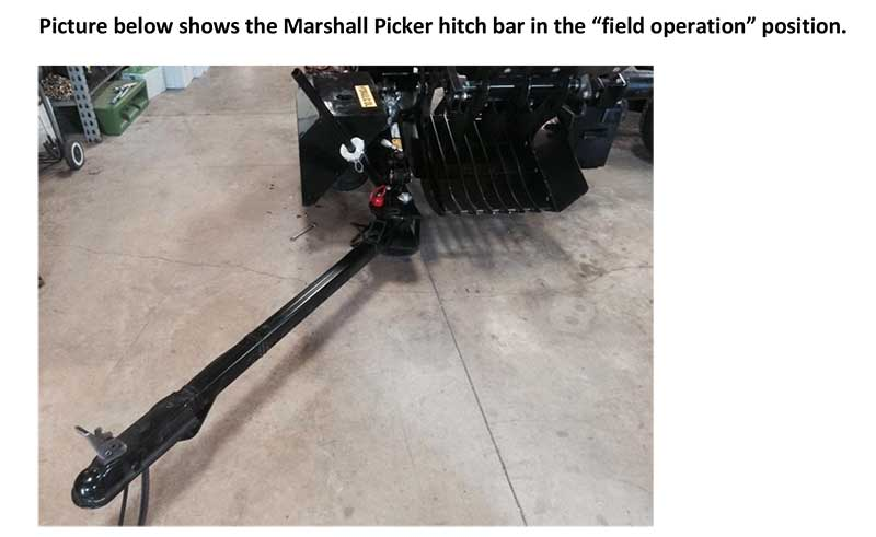 Marshall Picker Hitch Bar